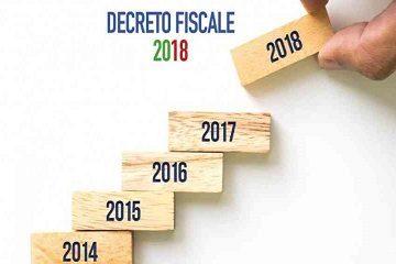 decreto fiscale 2018