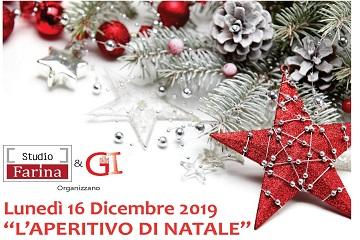 APERITIVO DI NATALE 2019!